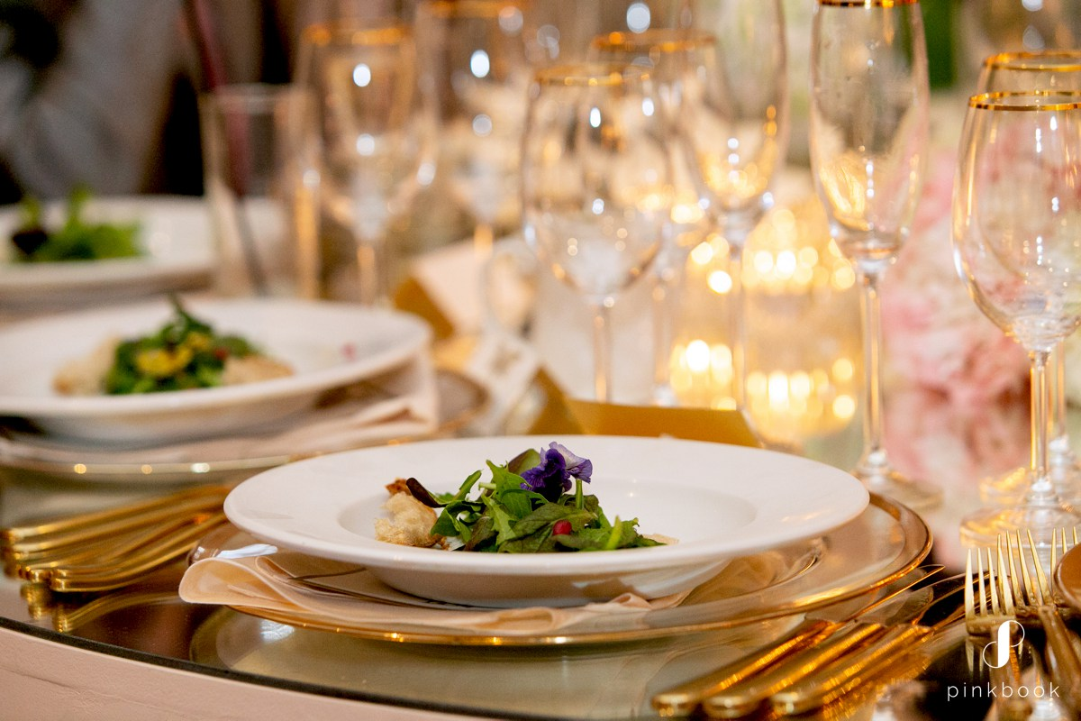 Two Chefs Catering Wedding Food