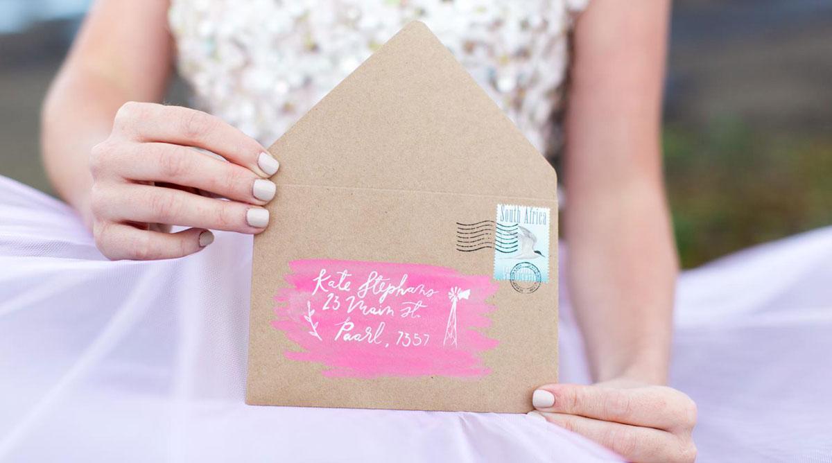 mailing wedding invitations susan brand