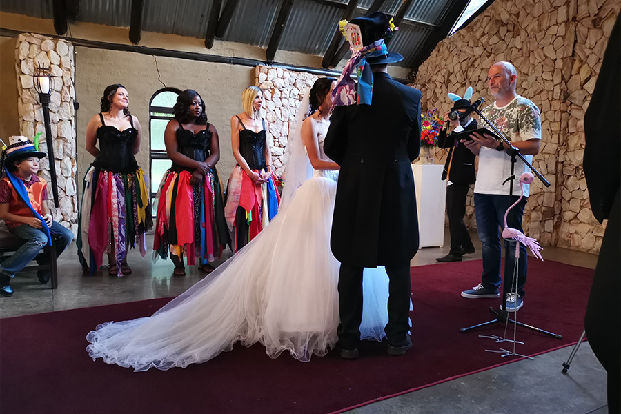 Aisle Be There - Iain Wardhaugh - Marriage Officers Johannesburg