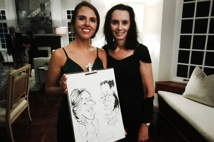 Mascher Caricatures - Entertainment Cape Town
