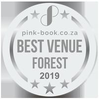 silver award for best forest wedding venue