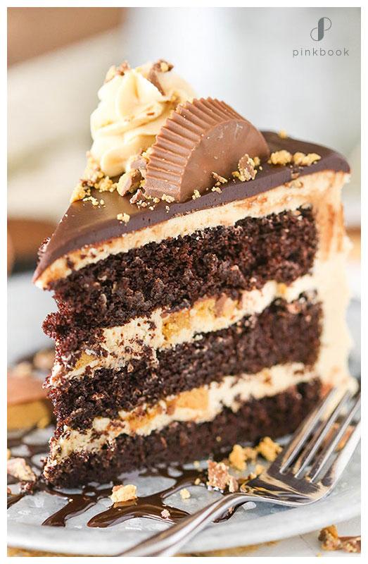 Peanut Butter Wedding Cake