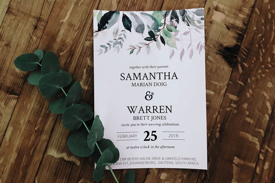Peony And Pence - Invitations & Stationery Johannesburg