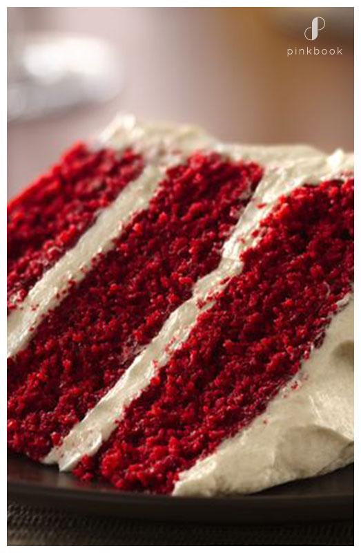 Spiked Red Velvet Cake