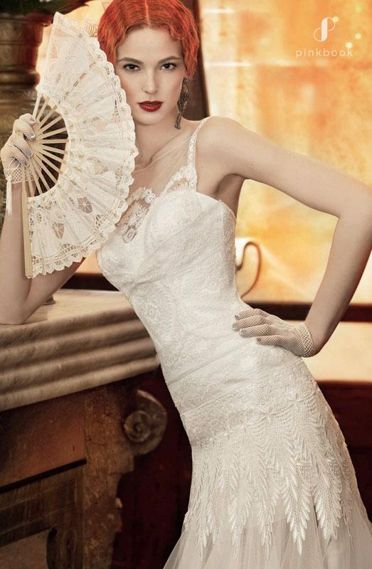 Victorian Vintage Wedding Gown