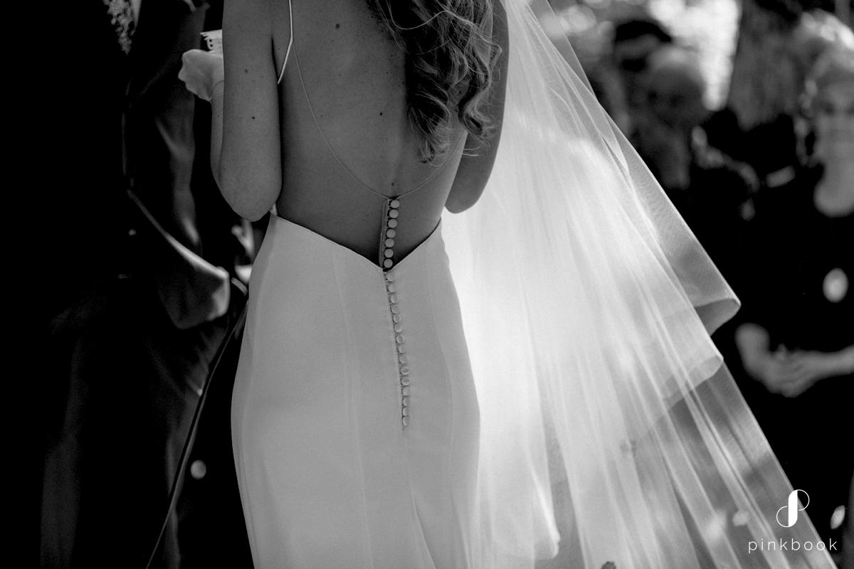 cindy bam wedding dress detail