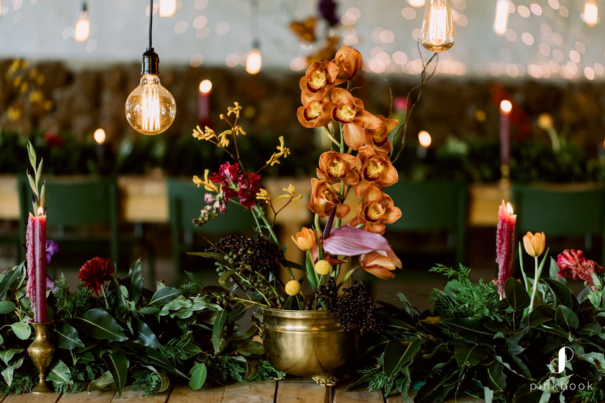 forest wedding decor inspiration