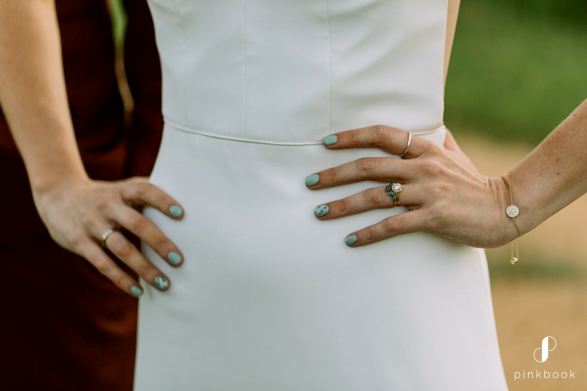 wedding ring real bride