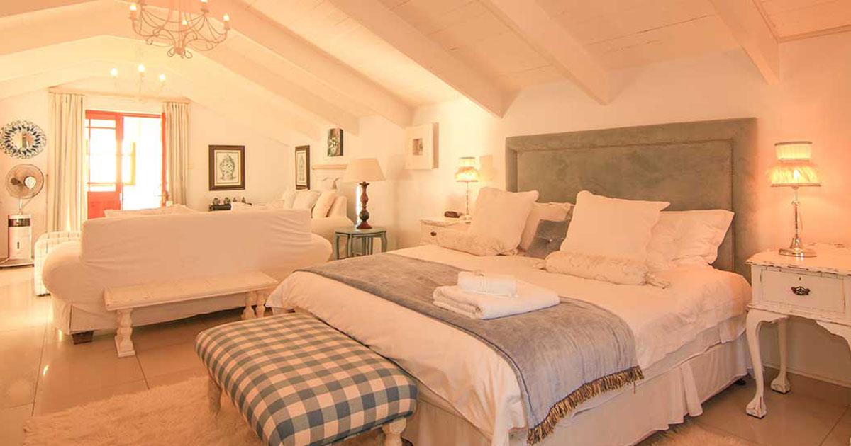 romantic west coast accommodation