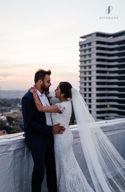 rooftop couples photoshoot