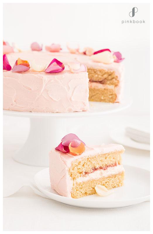 Rose Flavour Cake