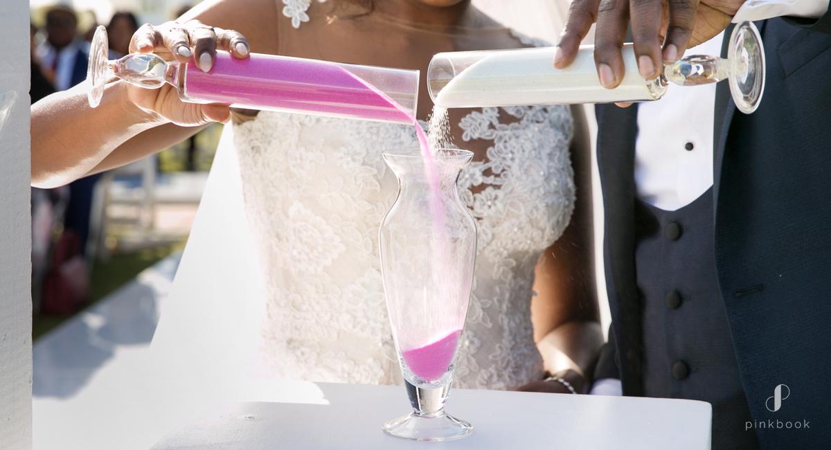sand ceremony wedding