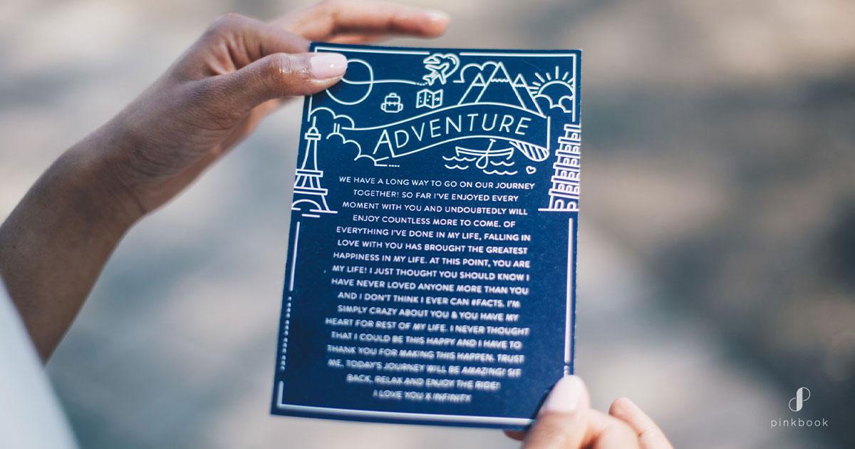 Adventure proposal