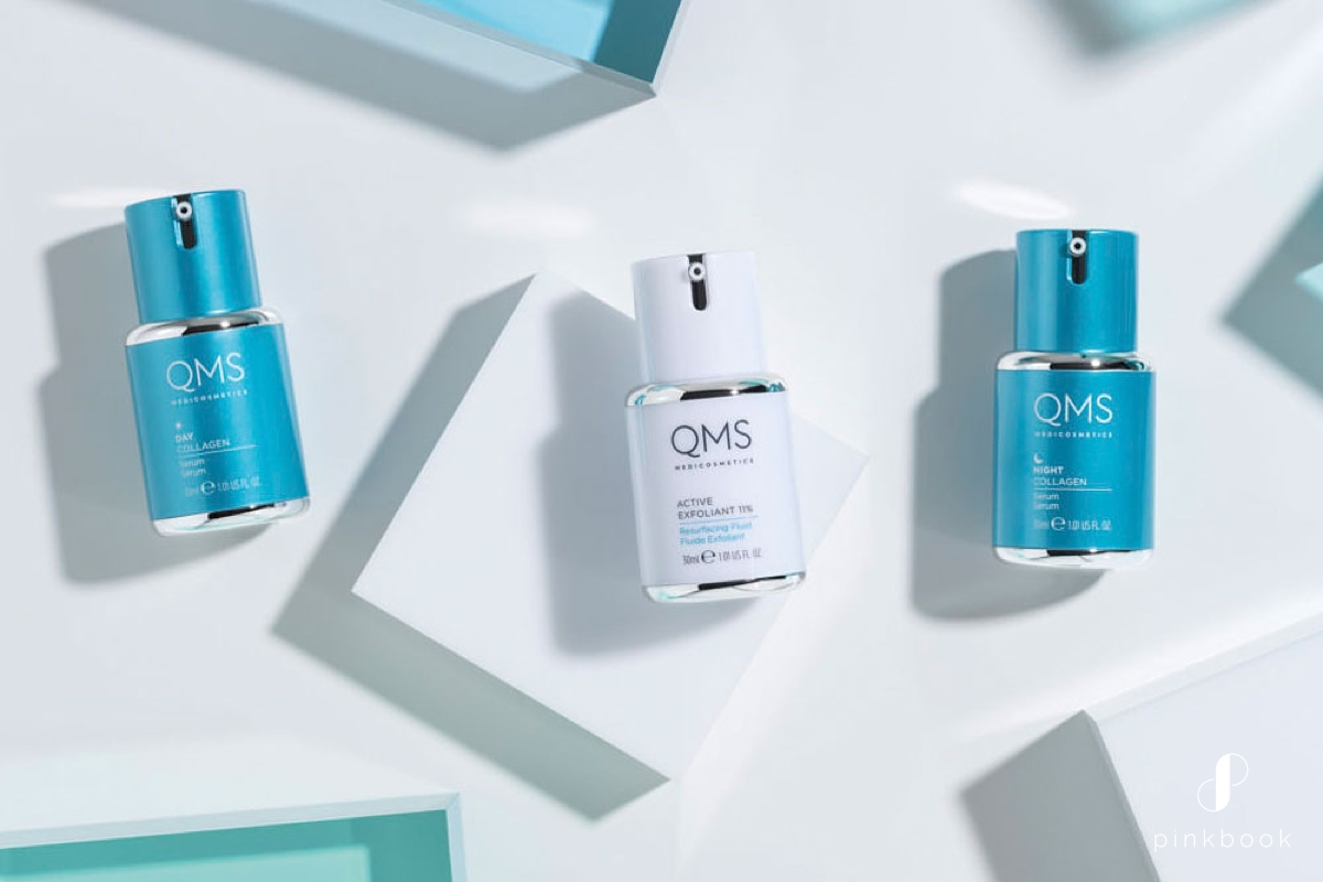 QMS-skincare-product bridal skincare