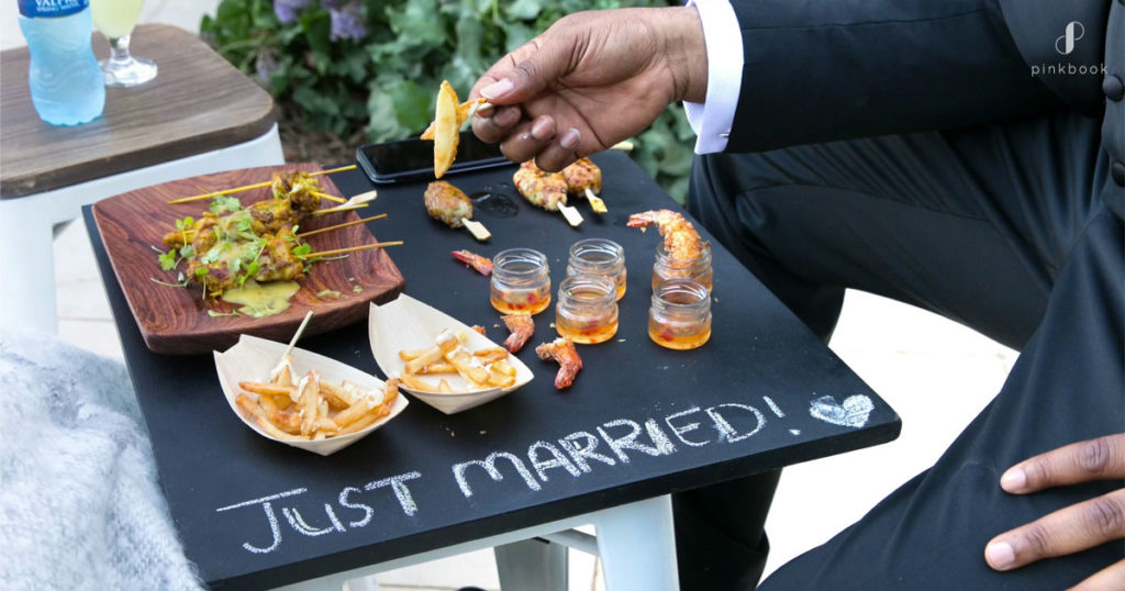 starter wedding catering trends 2020