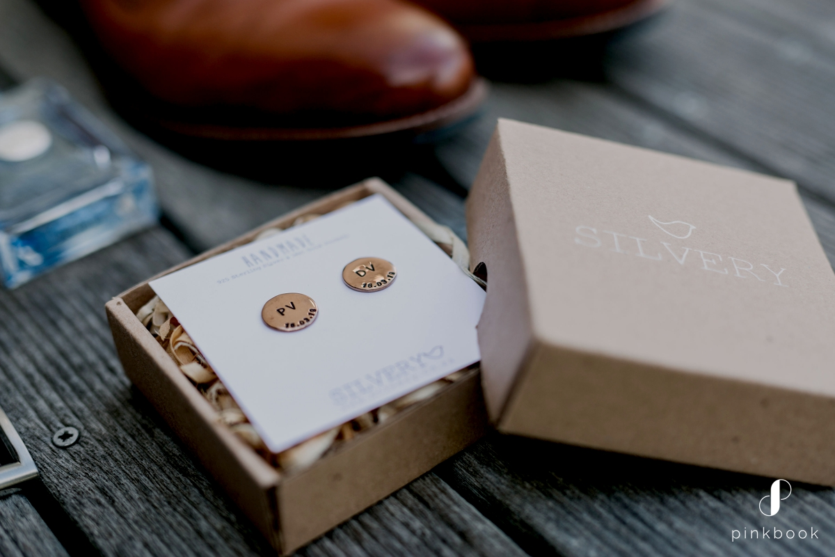 Personalized Cufflinks for Groom
