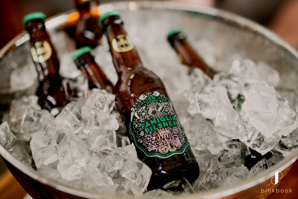 Beers for groomsmen