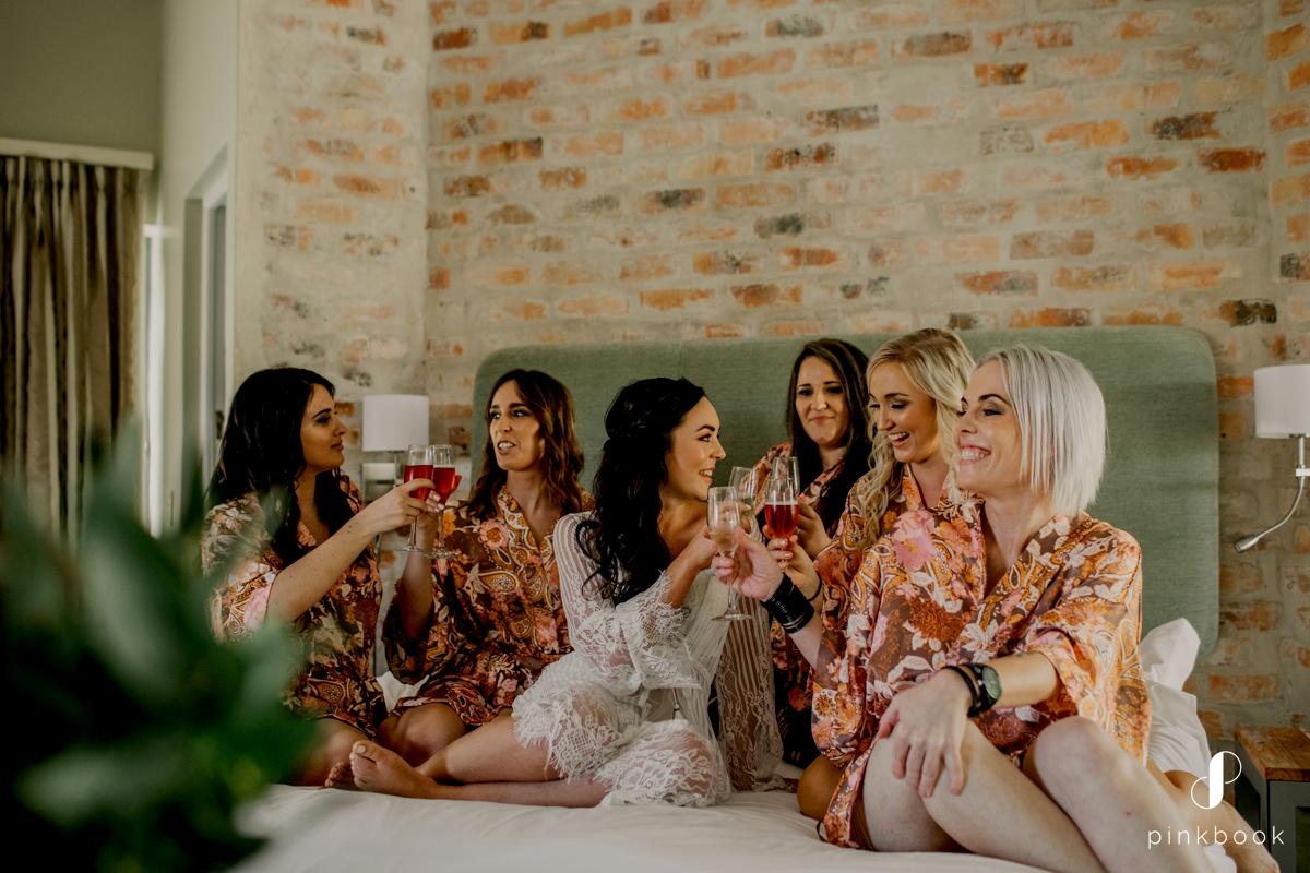 Pink Book Wedding Photos
