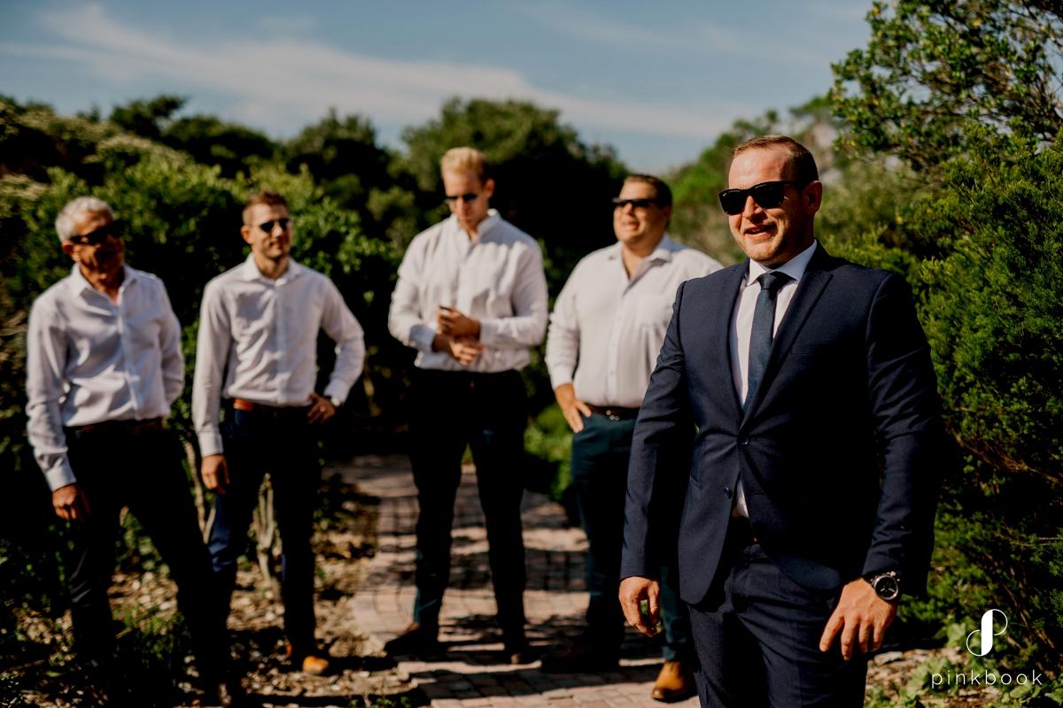 cool groom wedding photos