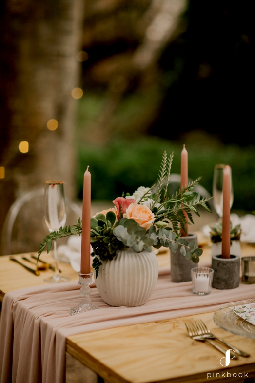 strawberry events wedding decor