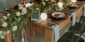 Industrial Wedding Decoration Ideas