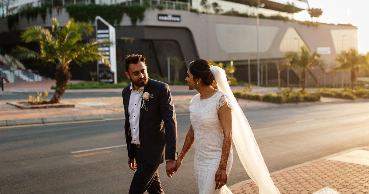 sunset wedding photoshoot ideas