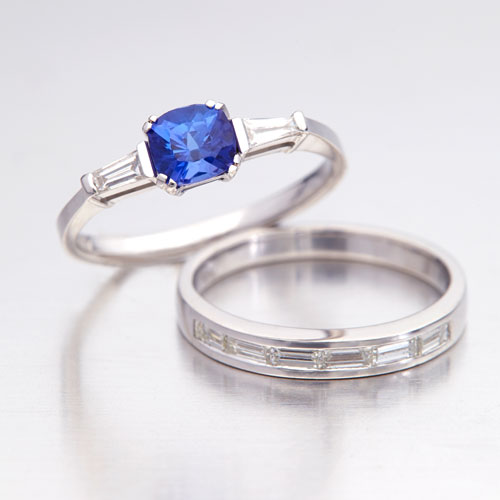 Tanzanite Engagement Rings Different by Design