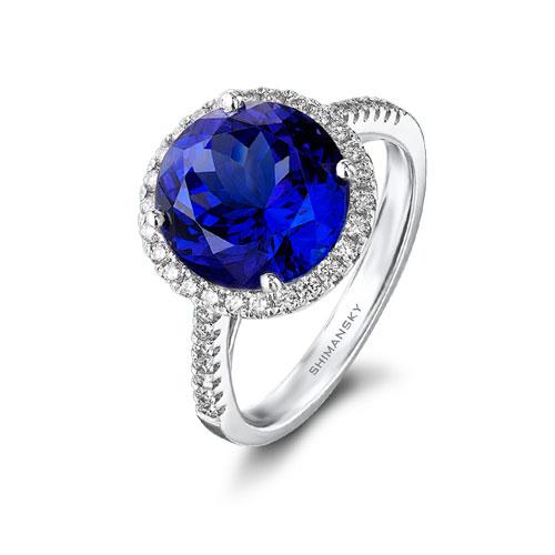 Tanzanite Engagement Ring Shimansky