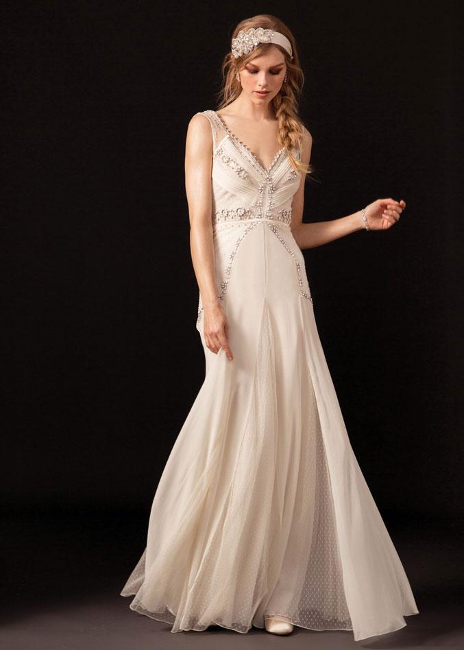 Gatsby Inspired 1920's Wedding Dress