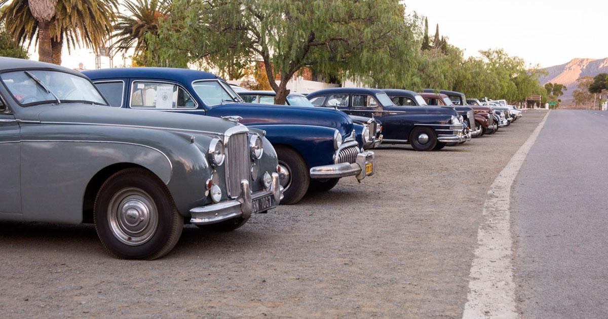 Antique Cars Matjiesfontein