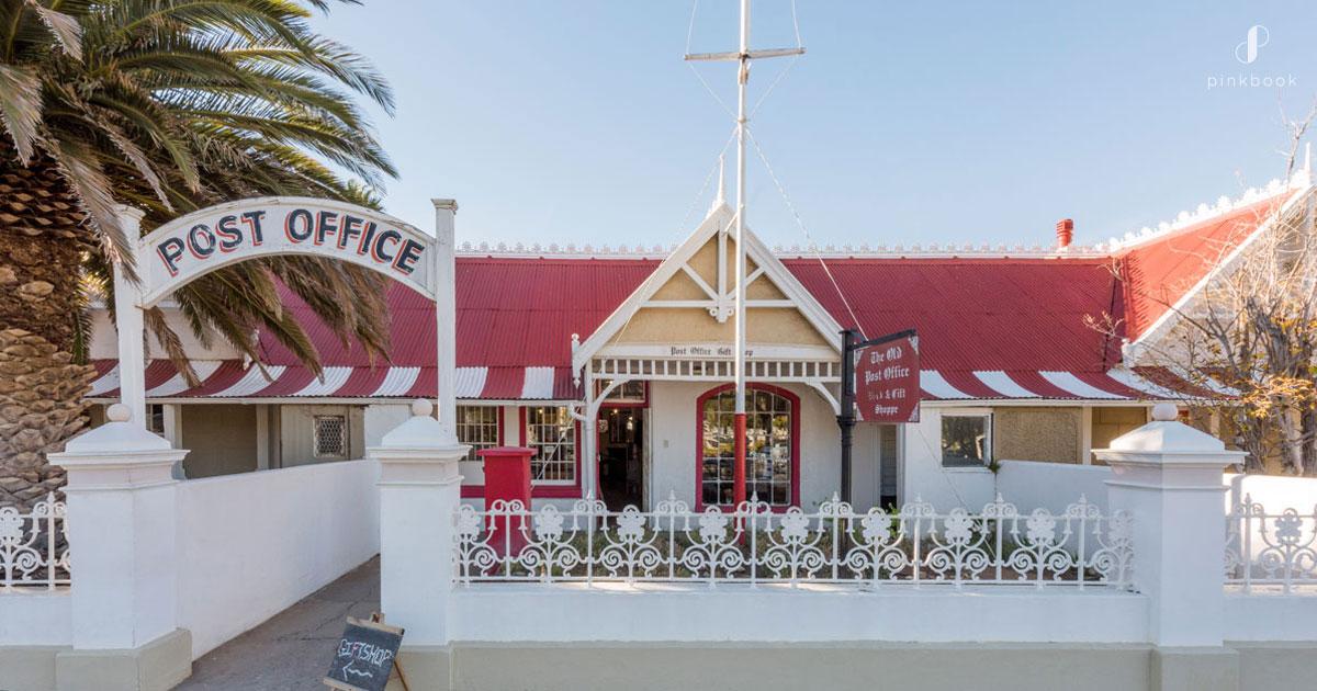 Historic Post Office in Matjiesfontein