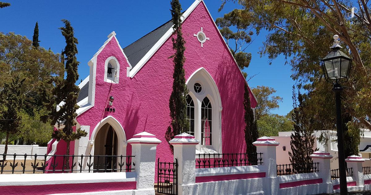 Matjiesfontein Pink Church