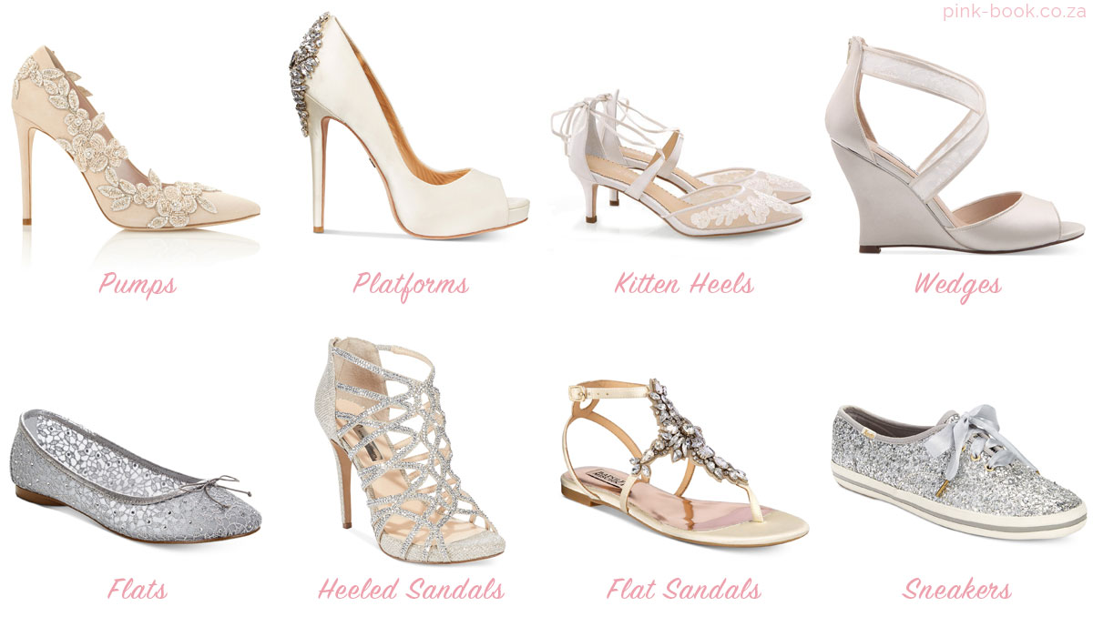 Finding The Perfect Wedding Shoes To Match Your Dress Pink Book Sa,Different Styles Of Wedding Dresses