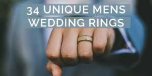 34 Unique Mens Wedding Rings