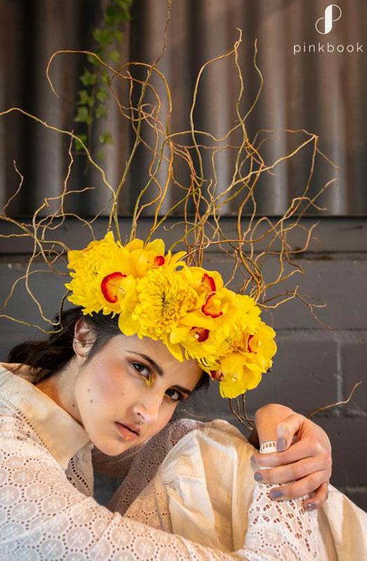 unique wedding flower crown ideas