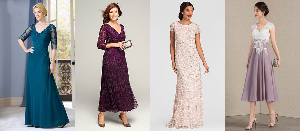 Wedding Attire Mother of the Bride Dress Colours