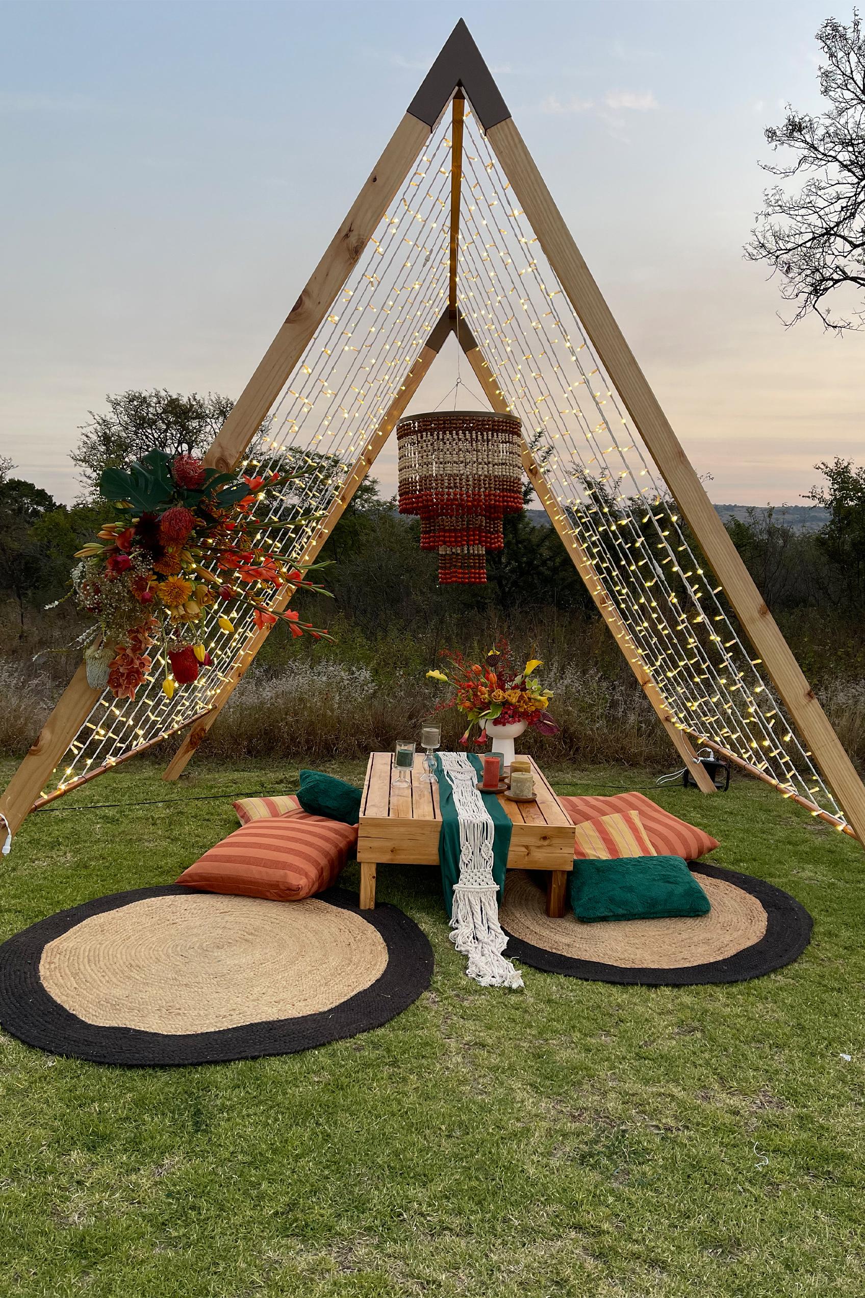 The Hanging Inspiration - Decor & Hiring Johannesburg