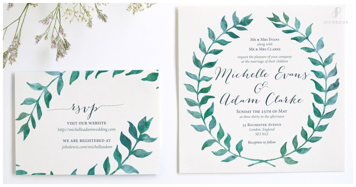 Wedding Invitation Wording l Examples of What To Say In A Wedding Invite