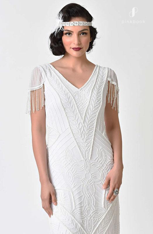 Vintage Bridal Maxi Dress