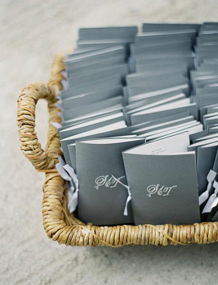 Wedding Ceremony Booklets