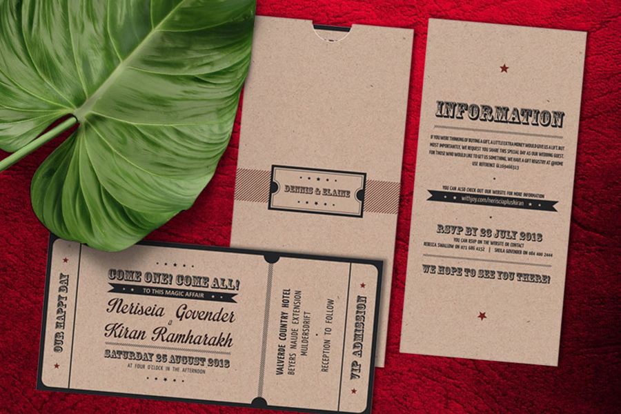 I Do - Creative Concepts - Invitations & Stationery Johannesburg