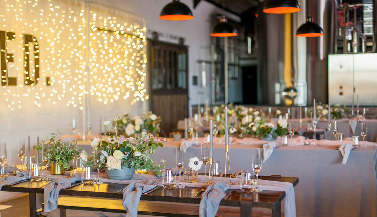 wedding styling decor blue olive events