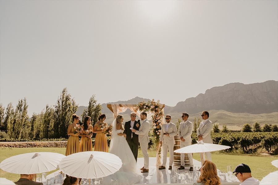 Saronsberg Cellar - Wedding Venues Tulbagh