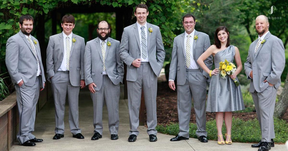 what should female groomsmen wear