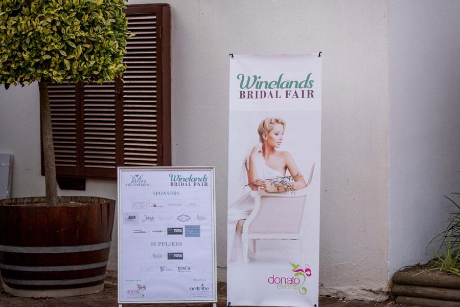 Winelands Bridal Fair 2021 - Wedding Expos & Fairs Stellenbosch