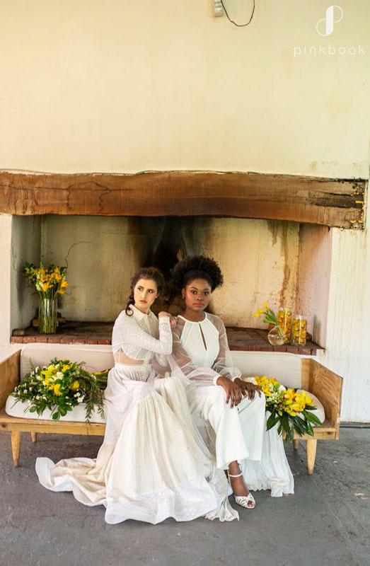 yellow wedding bouquet ideas