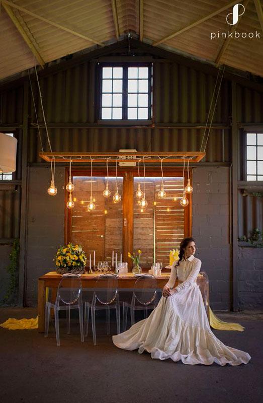 yellow wedding decor inspiration