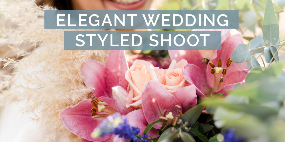 Elegant wedding styled shoot