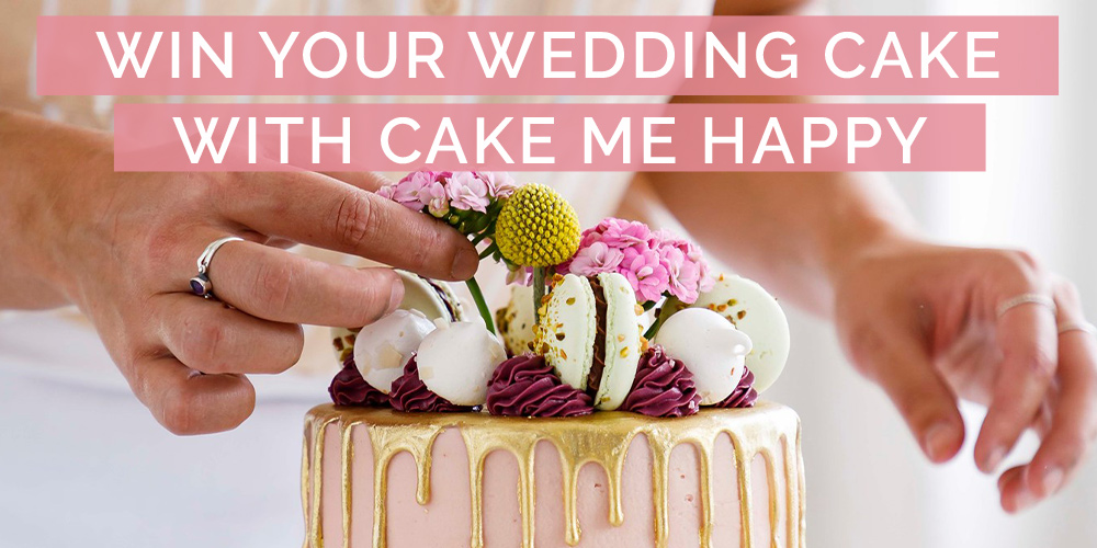 WIN Your Wedding Cake by Cake Me Happy