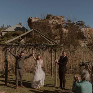 west coast wedding